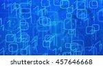 cyber space metaphor | Shutterstock . vector #457646668