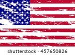 grunge flag of usa | Shutterstock .eps vector #457650826