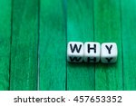 why cube blocks arranged on... | Shutterstock . vector #457653352