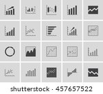 graph icons | Shutterstock .eps vector #457657522