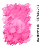 pink violet water color paint... | Shutterstock . vector #457681048
