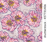 gooseberry pattern   Shutterstock .eps vector #457731406