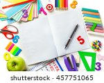 Open Blank Page Notebook With ...