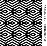 black and white abstract... | Shutterstock . vector #457754992