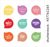 modern badges and labels... | Shutterstock .eps vector #457761265