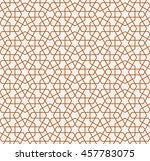 seamless islamic pattern of...   Shutterstock .eps vector #457783075