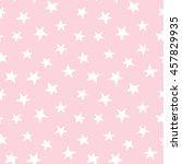 stars on pink background  ... | Shutterstock .eps vector #457829935