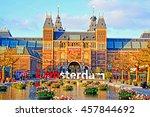 amsterdam  netherlands   april...   Shutterstock . vector #457844692