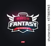 modern professional fantasy... | Shutterstock .eps vector #457880965