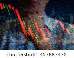 economic crisis  recession ... | Shutterstock . vector #457887472