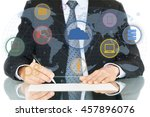 business. | Shutterstock . vector #457896076