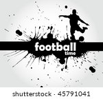 football sign   page header | Shutterstock .eps vector #45791041