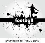 football sign   page header | Shutterstock .eps vector #45791041