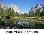 well known rocky monolith     ... | Shutterstock . vector #45791188