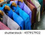 shirt made of silk | Shutterstock . vector #457917922