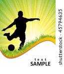 football poster | Shutterstock .eps vector #45794635