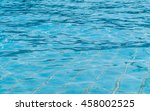 blurred water background  blue... | Shutterstock . vector #458002525