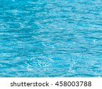hotel swimming pool with sunny... | Shutterstock . vector #458003788
