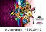 brochure template  flyer design ... | Shutterstock . vector #458010442