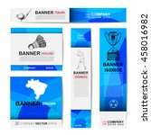 abstract sport banner for... | Shutterstock .eps vector #458016982