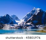 gurudongmar lake in north... | Shutterstock . vector #45801976