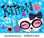 cute abstract illustration with ...   Shutterstock .eps vector #458041402