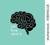medical  illustration of human... | Shutterstock .eps vector #458046118
