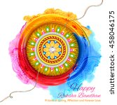 illustration of decorative... | Shutterstock .eps vector #458046175