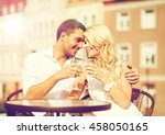summer holidays and dating... | Shutterstock . vector #458050165