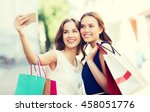 sale  consumerism  technology... | Shutterstock . vector #458051776