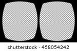 virtual reality glasses overlay ... | Shutterstock .eps vector #458054242