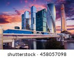 Moscow City  Russia. Moscow...