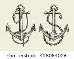 Hand Drawn Nautical Anchor....