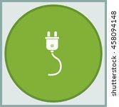 plug icon.   Shutterstock .eps vector #458094148