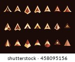 arrowheads vector icon set....