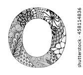 Zentangle Stylized Alphabet....