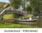 giethoorn  netherlands   august ... | Shutterstock . vector #458146462