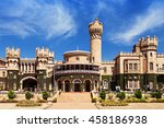 garden and bangalore king... | Shutterstock . vector #458186938
