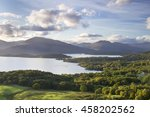 Summer Evening From Conic Hill...