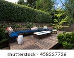 a contemporary outdoor... | Shutterstock . vector #458227726