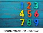 preschool learn to count in... | Shutterstock . vector #458230762
