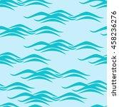 seamless pattern oceanic theme | Shutterstock .eps vector #458236276
