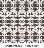 seamless ornate pattern | Shutterstock .eps vector #45825304
