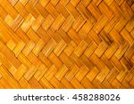close up vintage bamboo pattern.... | Shutterstock . vector #458288026
