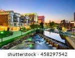 greenville  south carolina  usa ...   Shutterstock . vector #458297542