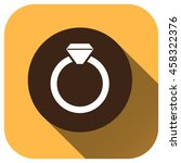 wedding rings icon vector logo...