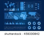 human user display . mixed media | Shutterstock . vector #458330842