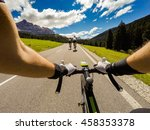 Group Of Cyclist On...