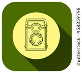 camera icon vector logo for...