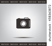 photo camera icon. vector eps 10 | Shutterstock .eps vector #458363872